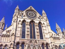 View of the front of the Cathedral